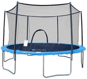 Stats Trampoline and Enclosure Combo