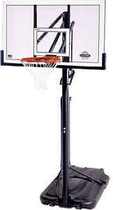 "Lifetime 54"" Steel-Framed Portable Basketball System"