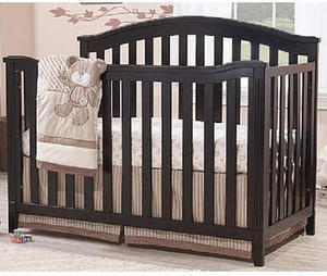 Sorelle Berkley 4-in-1 Convertible Crib - Espresso