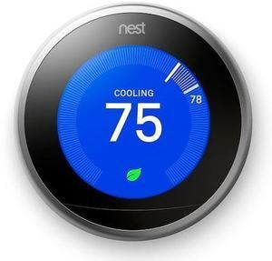 Nest Learning Thermostat (3rd Generation) + $60 Kohl's Cash