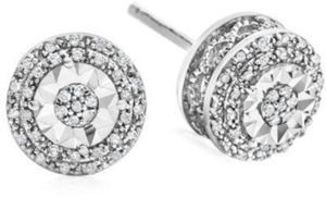 Near You 1/10 CT. T.W. Diamond Studs