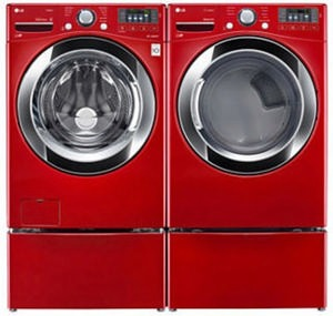LG 4.5 Cu. Ft. Front-Load Washer WM3670HRA
