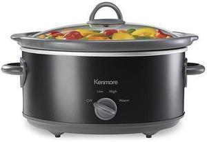 Kenmore KMOPPSC 5 Qt. Slow Cooker