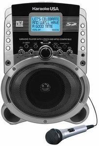 JS Karaoke SD519 Portable Multi-Format Digital Karaoke Player with Lyric Screen