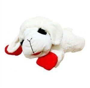 """24"""" Jumbo Lamb Chop Plush Dog Toy"""