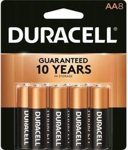 Duracell Alkaline Batteries, AA, 8-Pk.