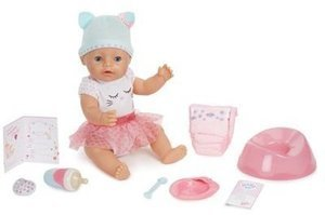 BABY born Interactive Doll Blue Eyes