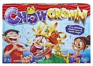 Chow Crown Game Kids Electronic Spinning Crown Game