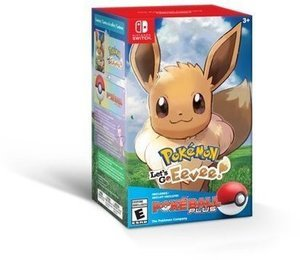 Pokemon: Let's Go, Eevee! w/ Poke Ball, Nintendo