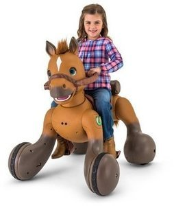 12-Volt Rideamals Scout Pony Interactive Ride-On Toy by Kid Trax
