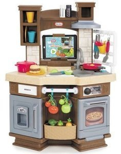 Little Tikes Cook 'n Learn Smart Kitchen with 40+ Piece Accessory Set and 4 Play Modes