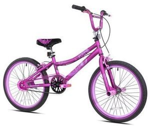 "Kent 20"" 2 Cool Girls' BMX Bike, Satin Purple"