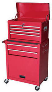 Gstandard 2-Pc. Rolling Tool Storage Chest - Red GStandard 2-Pc. Rolling Tool Storage Chest