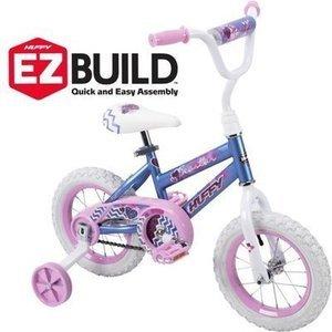 """Huffy 12"""" Sea Star Girls' EZ Build Bike"""