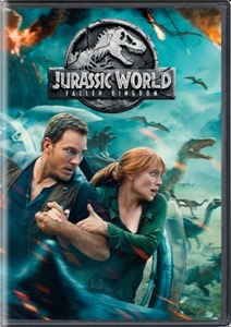 Jurassic World: Fallen Kingdom (DVD) & More Selected Movies
