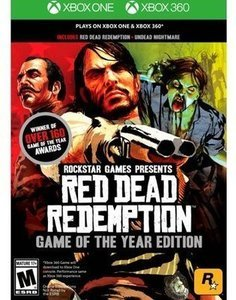 Red Dead Redemption: Game of the Year Edition Xbox & More Selected VIdeo Games