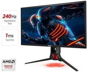 ROG Strix XG258Q Gaming Monitor 25 inch (24.5 inch viewable) FHD (1920x1080), Native 240Hz, 1ms, Adaptive-Sync(FreeSync), Asus Aura RGB After Rebate