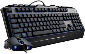 Devastator 3 Gaming Combo with RGB Keyboard and Mouse Featuring Seven Different LED Color Options By Cooler Master
