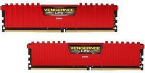 CORSAIR Vengeance LPX 16GB (2 x 8GB) 288-Pin DDR4 SDRAM DDR4 2400 (PC4 19200) Memory Kit Model CMK16GX4M2A2400C14R