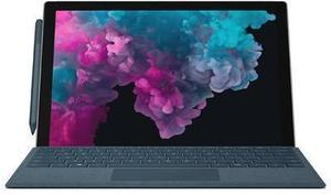 "Microsoft Surface Pro 6 LJK-00001 Intel Core i5 8th Gen 8250U (1.60 GHz) 8 GB Memory 128 GB SSD Intel UHD Graphics 620 12.3"" Touchscreen 2736 x 1824 Detachable 2-in-1 Laptop Windows 10 Home 64-Bit"